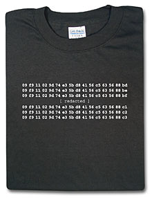 ThinkGeek Magic Numbers T-Shirt