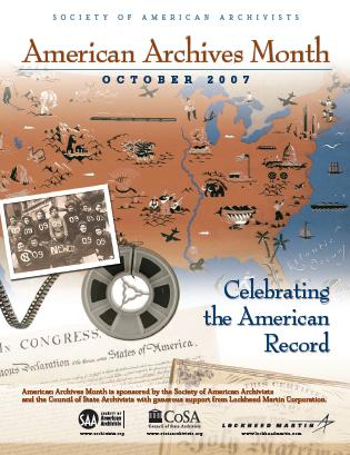 SAA American Archives Month