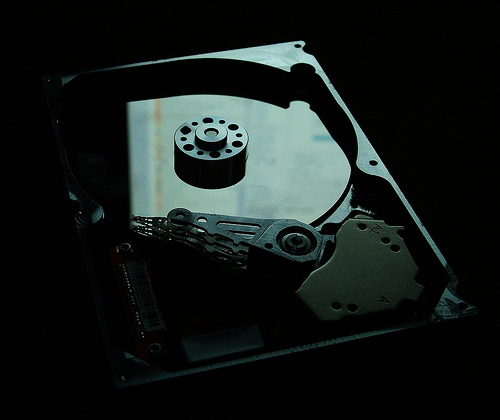 Photo of Crashed Hard Drive - wonderferret on Flickr