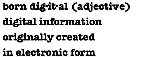 Born Digital Logo