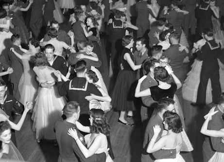 Library of Virginia: St. Peters Service Club dance, Richmond Hotel
