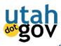 Utah dot Gov Logo