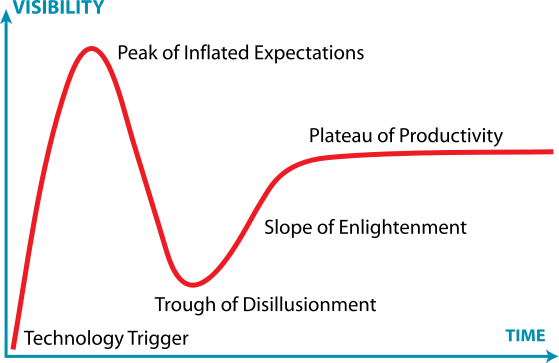 Gartner Hype Cycle (Wikipedia)